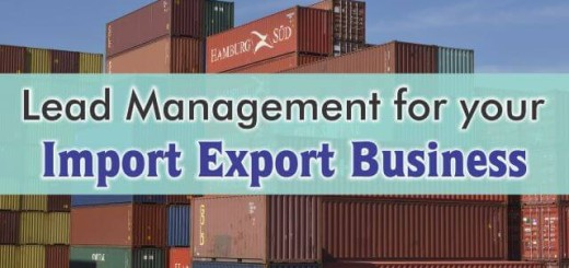 crm for lead management in import export business