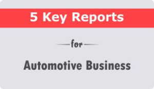 5 key crm reports for automotive business