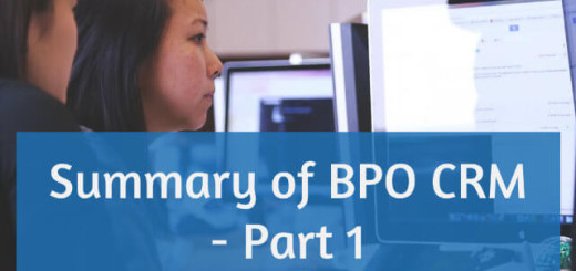 All about BPO CRM Part 1