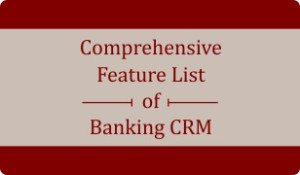 Booklet on 80+ Features of Banking CRM