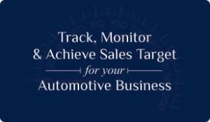Booklet on Automotive CRM for sales target management