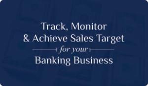 Booklet on Banking CRM for Sales Target management