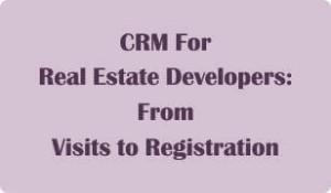 Booklet on CRM for Real Estate Developers