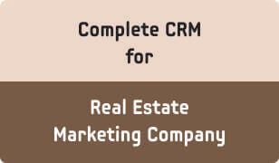 Booklet on CRM for Real Estate Marketing Company