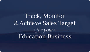 Booklet on Education CRM for Sales Target-management