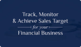 Booklet on Finance CRM for Sales Target Management