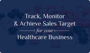 Booklet on Healthcare CRM for Sales Target Management