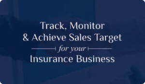 Booklet on Insurance CRM for Sales Target management