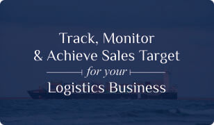 Booklet on Logistics CRM for Sales Target Management