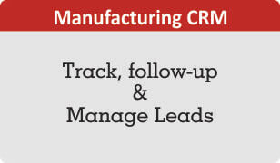 Manufacturing CRM for Lead Management