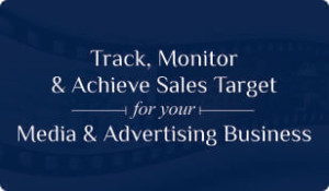 Booklet on Media & Advertising CRM for Sales target management
