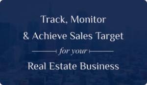 Booklet on Real Estate CRM for sales target management
