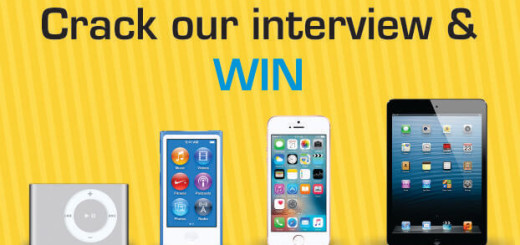 Crack our interview & win!