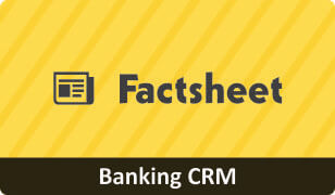Download Factsheet on CRM for Banking Business