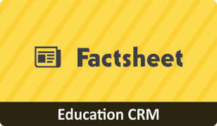 Factsheet on CRM for Education Business
