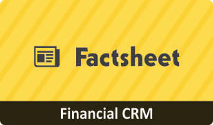 Factsheet on CRM for Finance Business