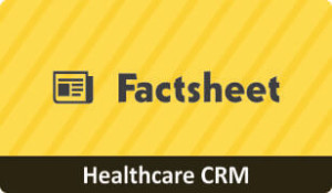 Factsheet on CRM for Healthcare Business