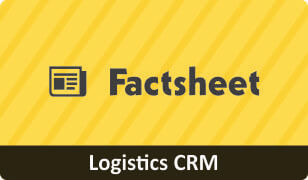 Factsheet on CRM for Logistics Business