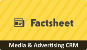 Download Factsheet on CRM for Media & Advertising Business