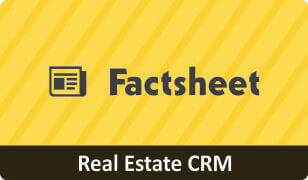 Factsheet on CRM for Real Estate Business