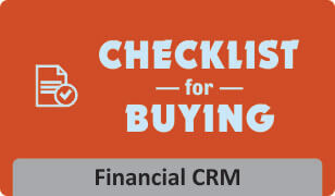 Checklist for Finance Industry CRM