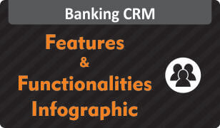 Get Infographic on Features & Functionalities of Banking CRM