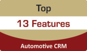 Booklet Top features of Automotive CRM
