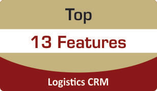 Top features of Logistics CRM software