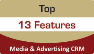 Top 13 features about Media & Advertising CRM