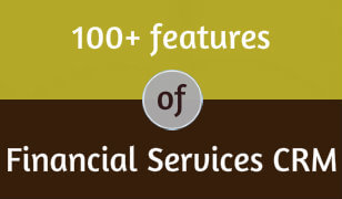 100+ Features of Financial Services CRM
