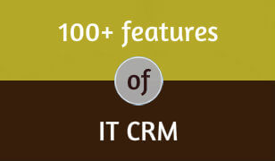 100+ Features of IT CRM