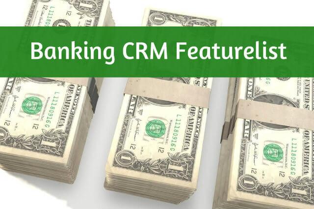 Banking Crm Featurelist