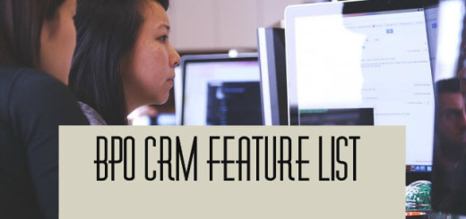 BPO Crm Featurelist