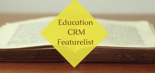 Education CRM Featurelist