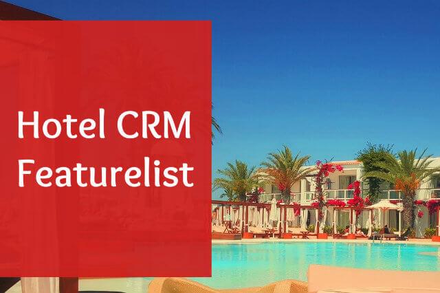 Hotel Crm Featurelist