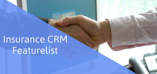 Insurance CRM Featurelist