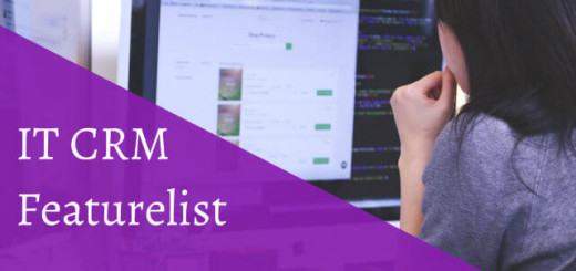 IT Crm Featurelist