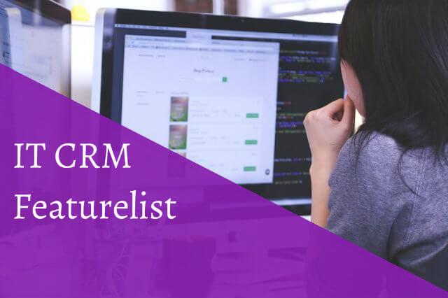 IT Crm Featurelist