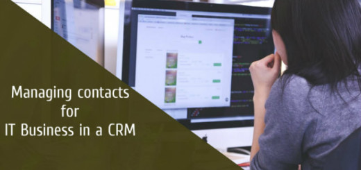 Managing Contacts for IT Business in a CRM