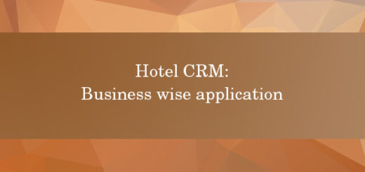Hotel CRM business wise application 2017