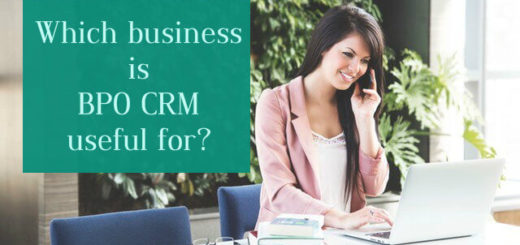 Which business is BPO CRM useful for?