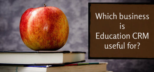 Which business is Education CRM useful for?