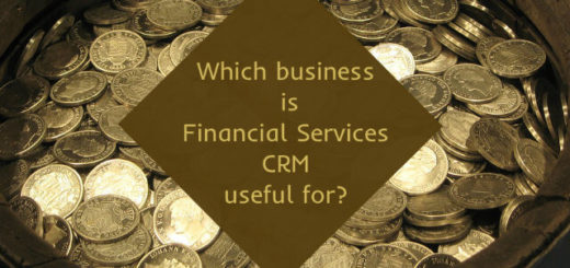 Which business is Financial Services CRM for?