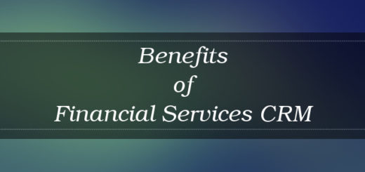 Financial Services CRM benefits