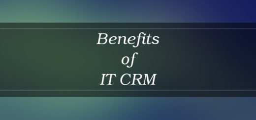 IT CRM benefits