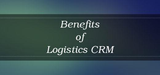 Logistics CRM benefits 2017