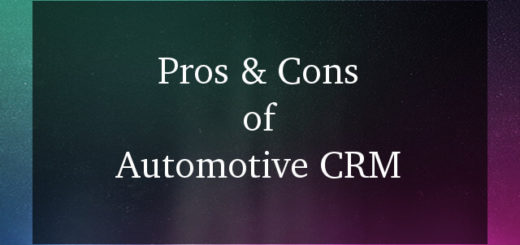 Automotive CRM pros and cons