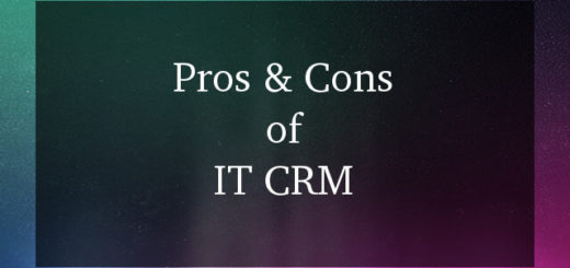 IT CRM Software Pros And Cons 2017
