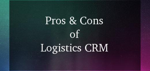 Logistics CRM software pros and cons
