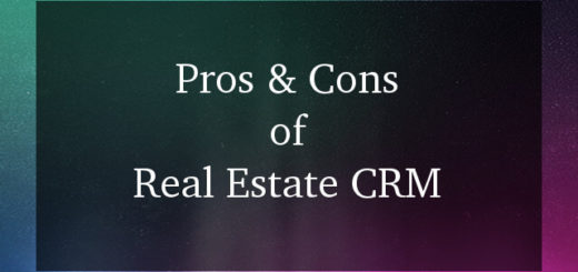 Real Estate CRM Software Pros and Cons 2017